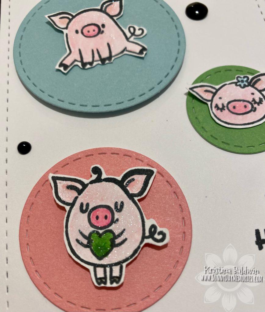 These Little Piggies Closeup
