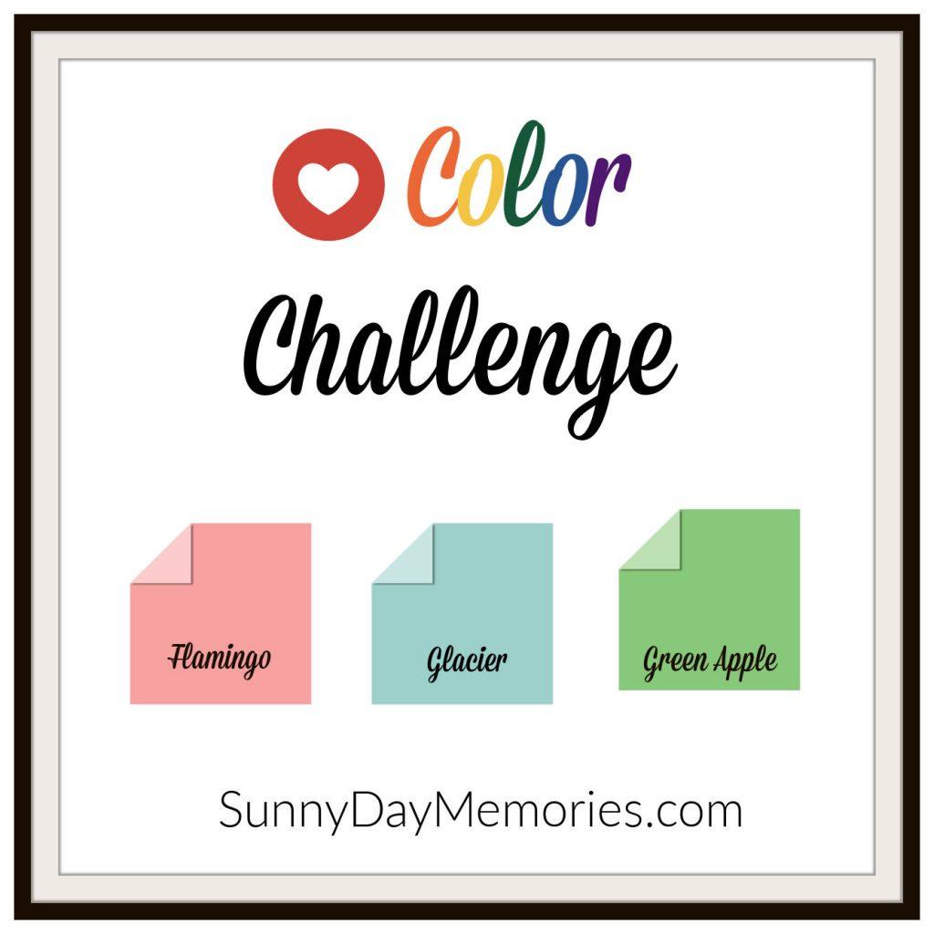 April 12, 2021 SunnyDay Memories Color Challenge