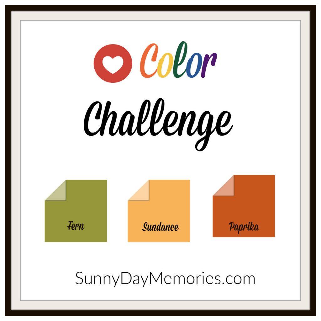 April 19, 2021 SunnyDay Memories Color Challenge