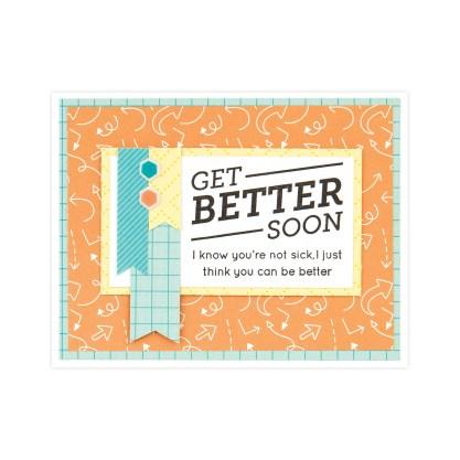 CTMH Get Better Soon Card