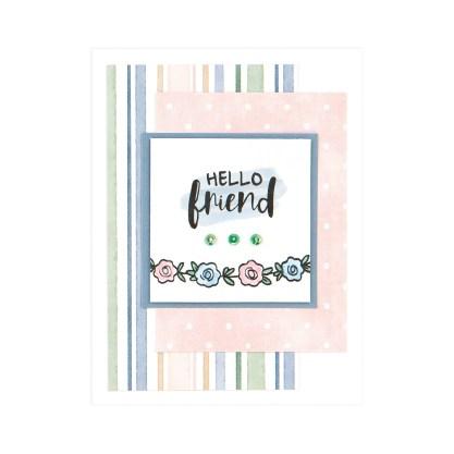 CTMH Hello Friend Card