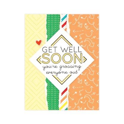 CTMH Get Well Soon Card