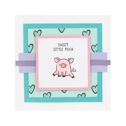 CTMH These Little Piggies Mini Album Cover