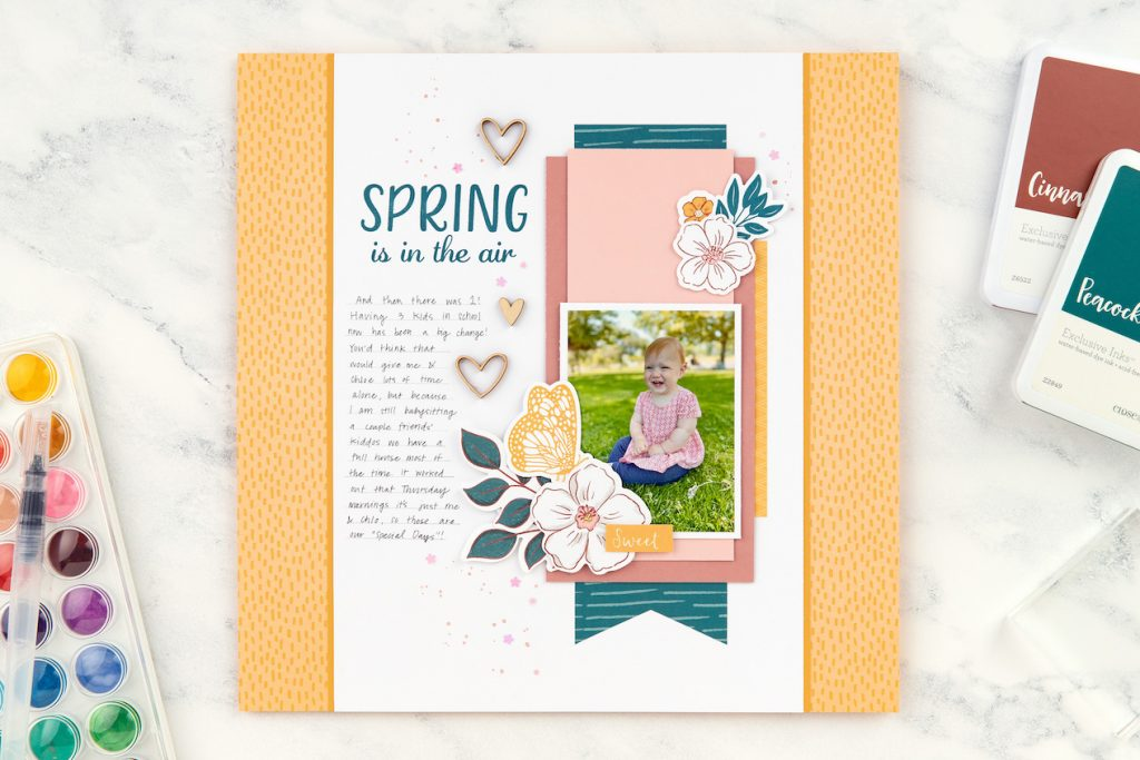 CTMH Spring is in the Air Layout