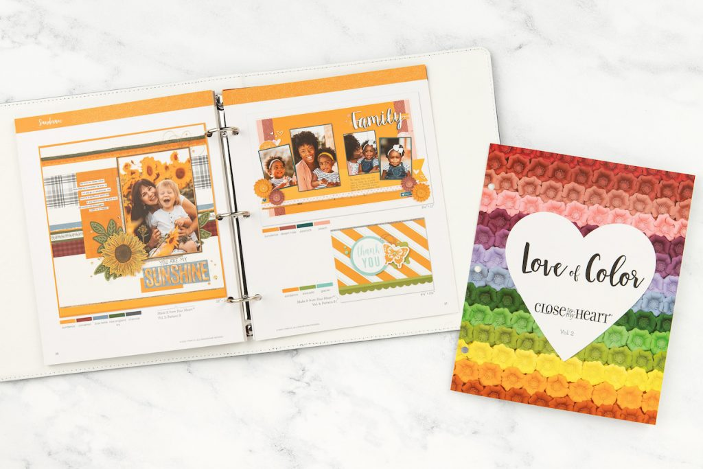 How to Create Perfectly Balanced Color Combinations with CTMH's Love of Color