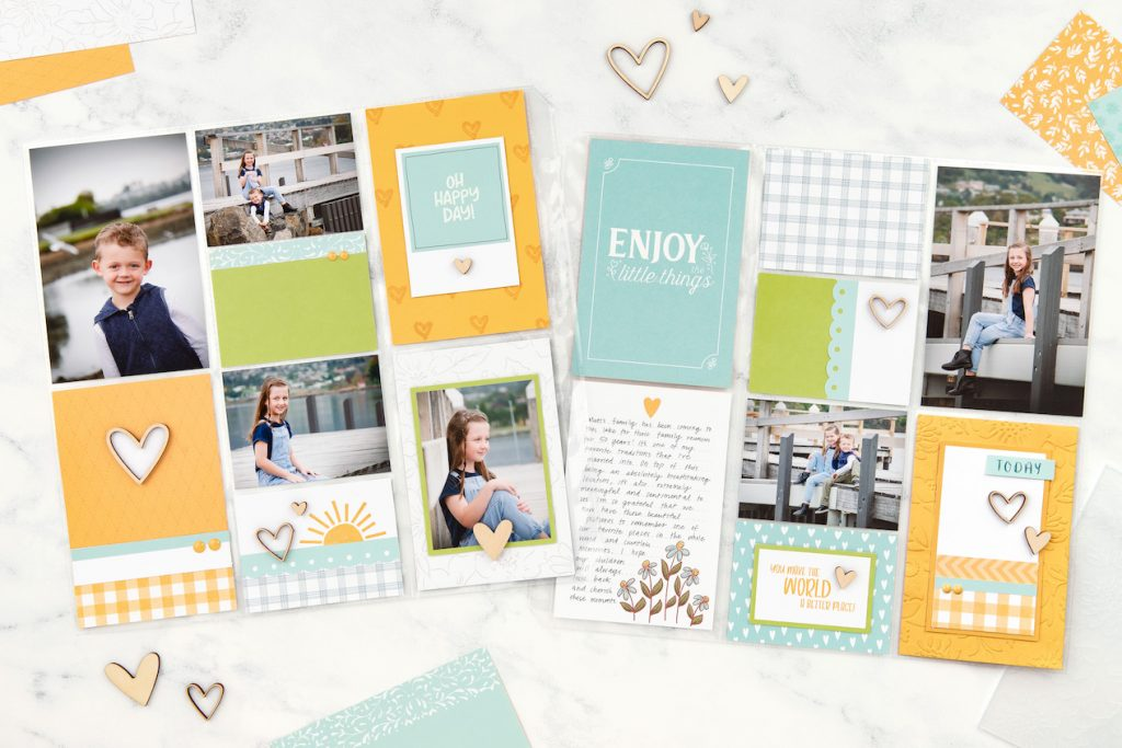 CTMH Picture My Life Pocket Scrapbooking Layout