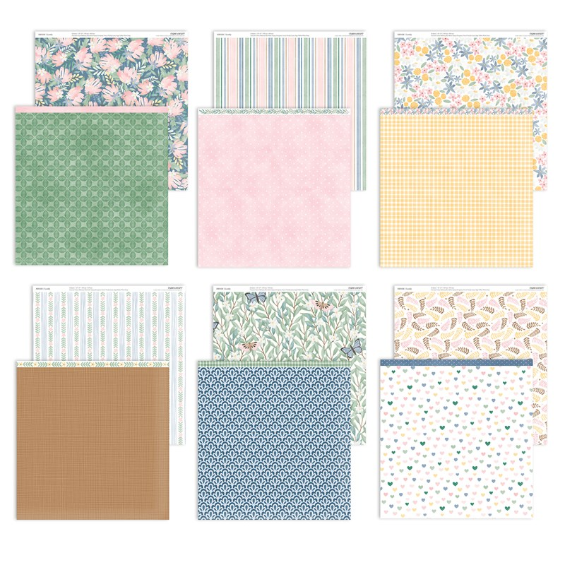 CTMH Lovely Paper Collection