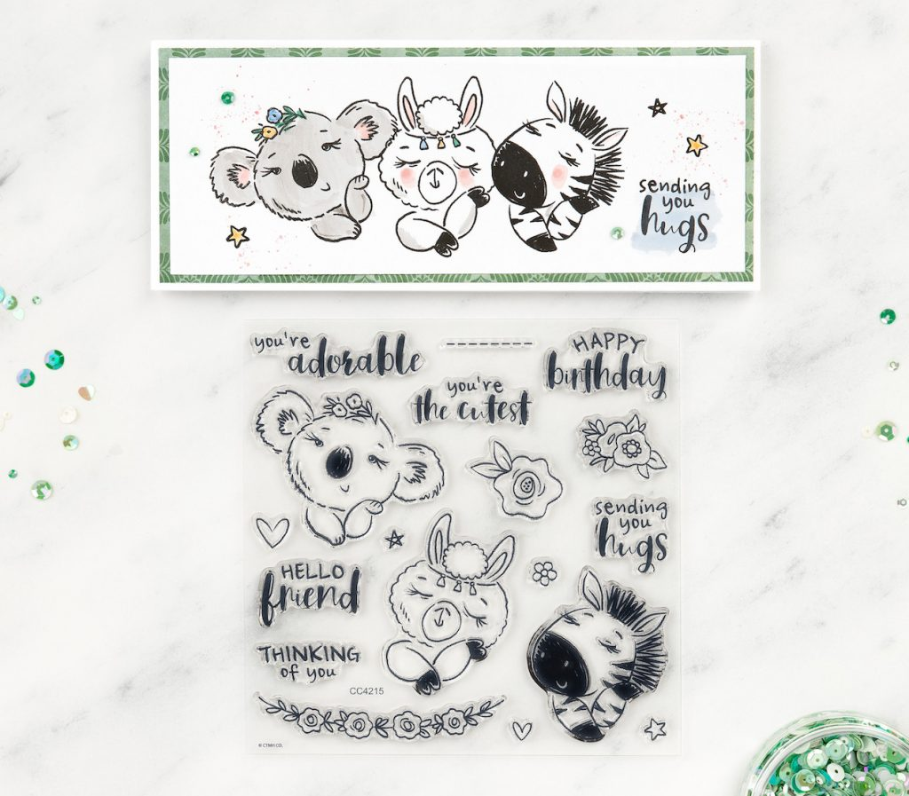 Sending You Hugs Cardmaking Kit for Close To My Heart's  National Scrapbooking Day Celebration