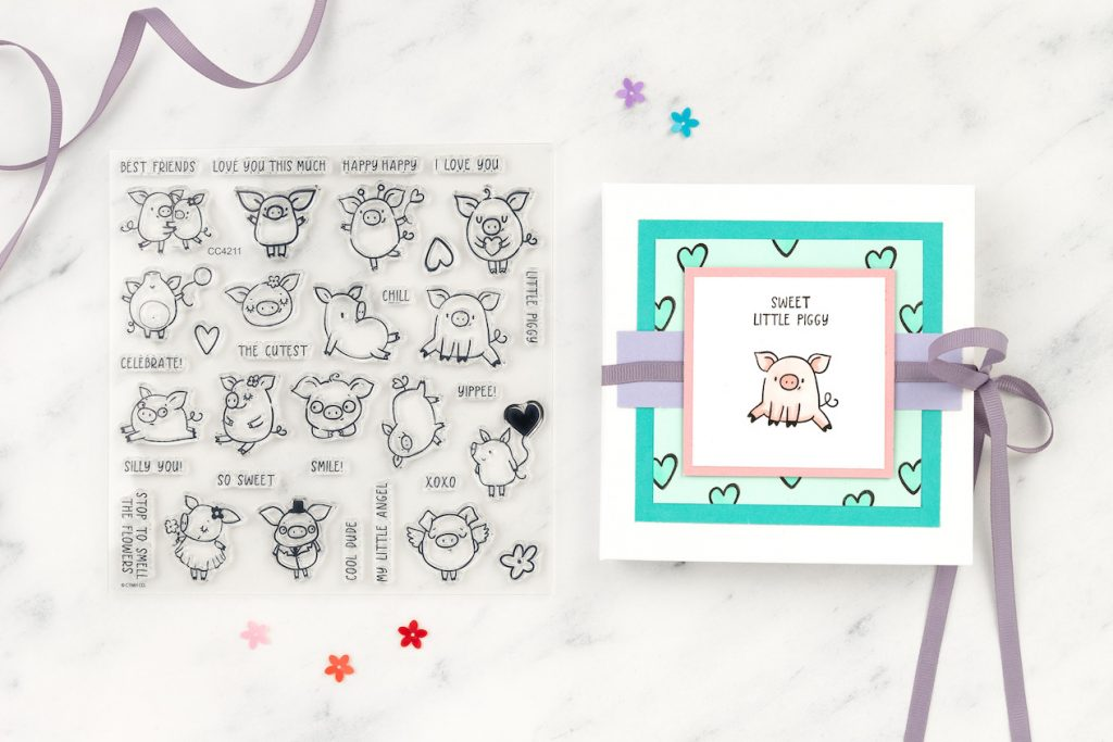 These Little Piggies Mini Album Kit for Close To My Heart's National Scrapbooking Day Celebration