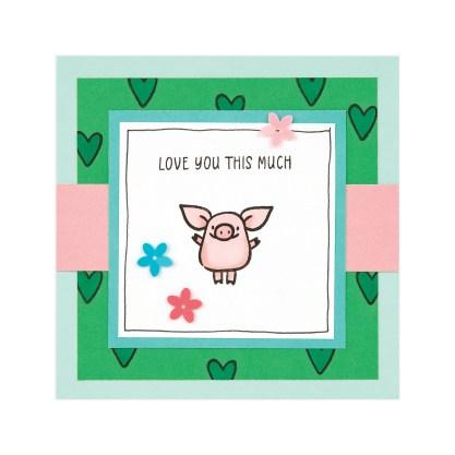 CTMH These Little Piggies Mini Album Closing Page