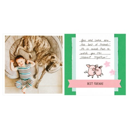 CTMH These Little Piggies Mini Album Page 10