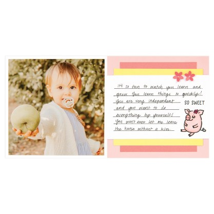 CTMH These Little Piggies Mini Album Page 14