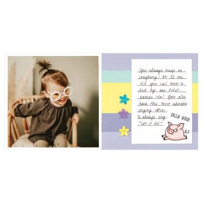 CTMH These Little Piggies Mini Album Page 7
