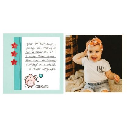 CTMH These Little Piggies Mini Album Page 9