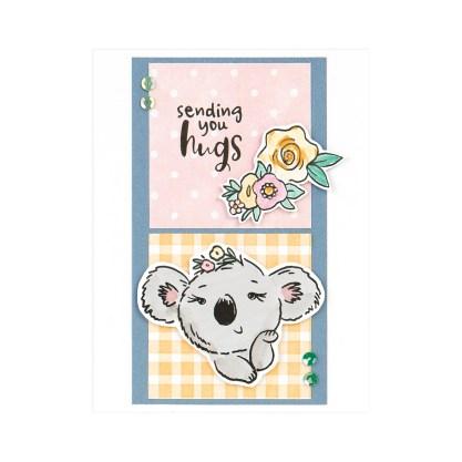 CTMH Sending You Hugs Koala Card