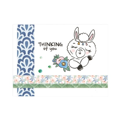CTMH Thinking of You Llama Card