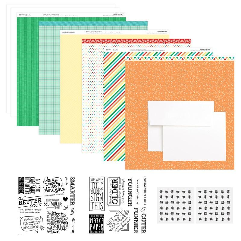 CTMH Cheerful Humor Cardmaking Kit