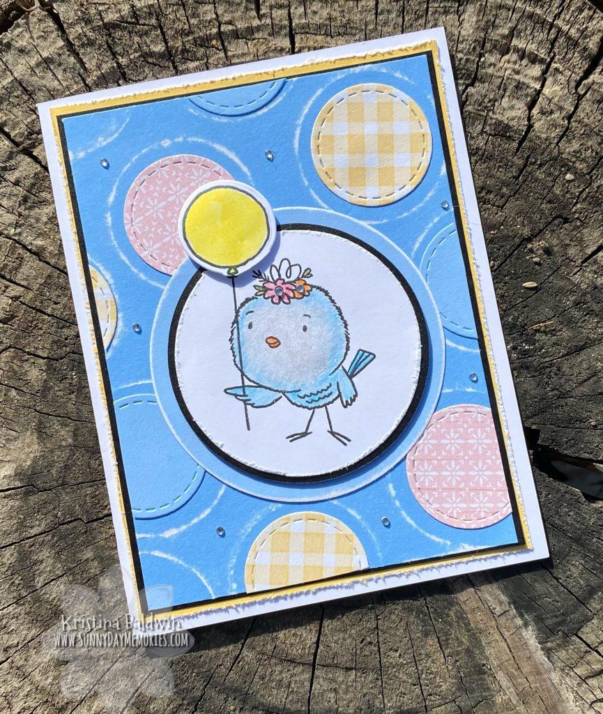 So Tweet Bird Handmade Card