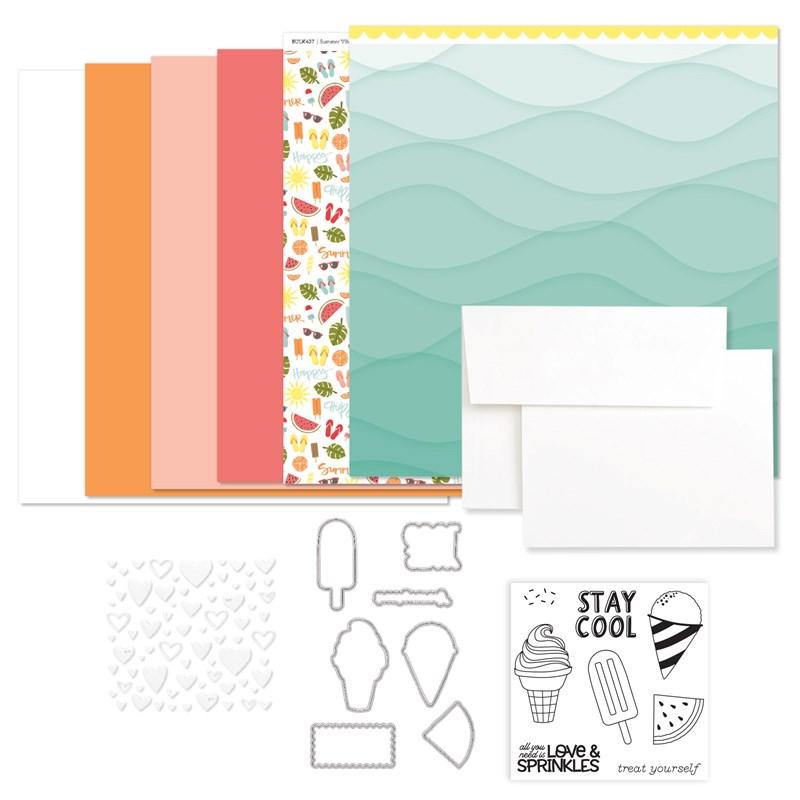 CTMH Summer Vibes Cardmaking Kit