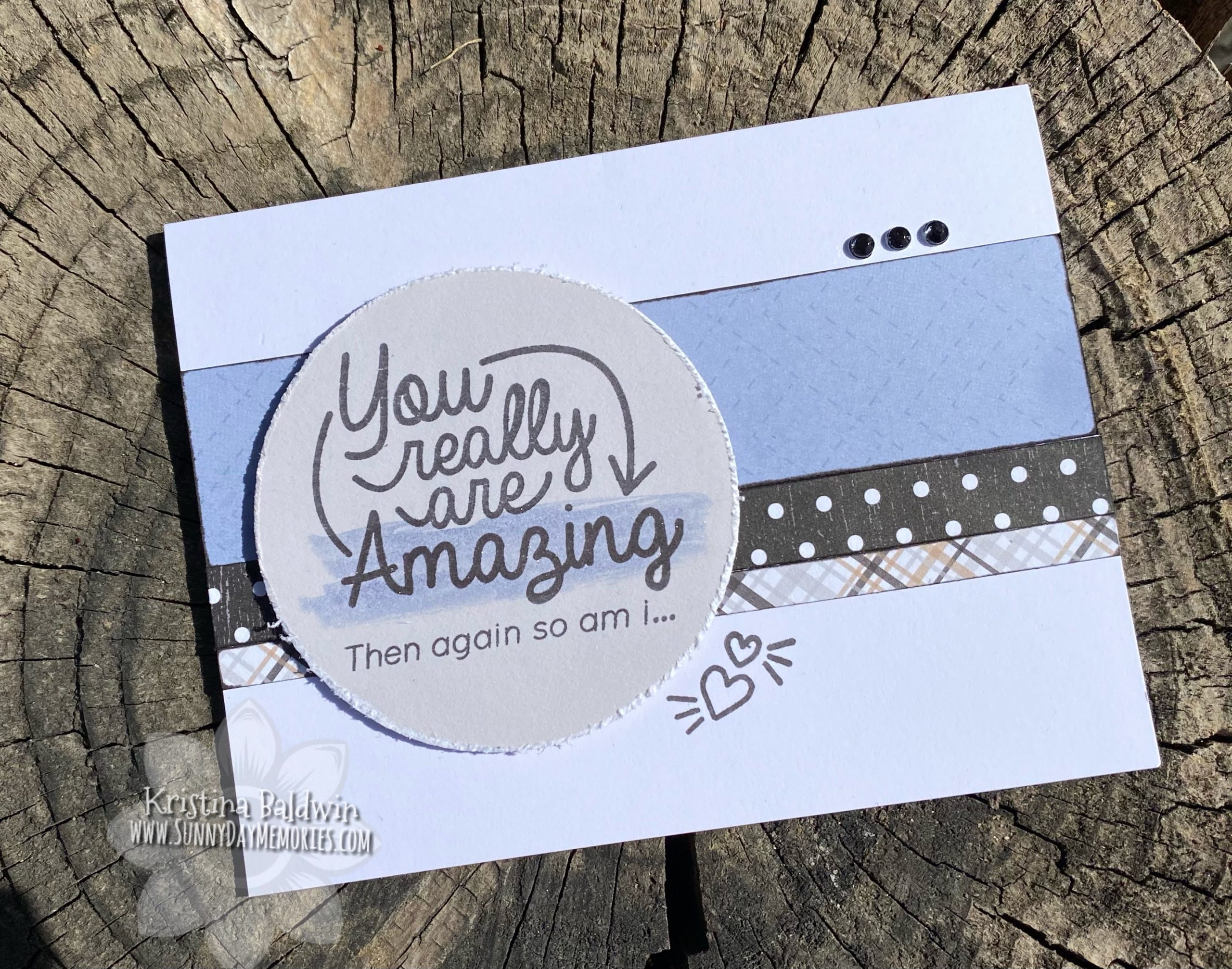 CTMH You Really Are Amazing Card