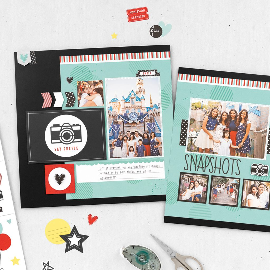 CTMH Return to the Happiest Place Scrapbook Kit