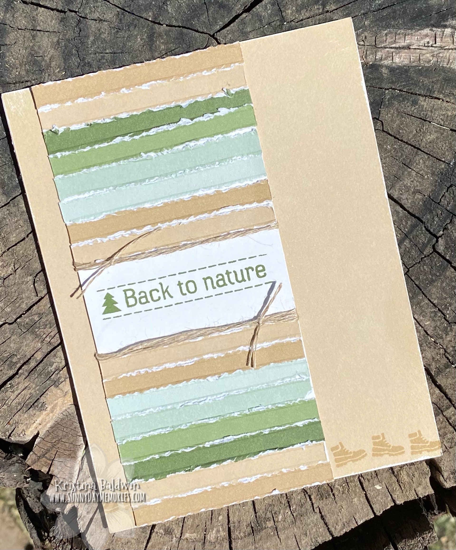 CTMH Back to Nature Card