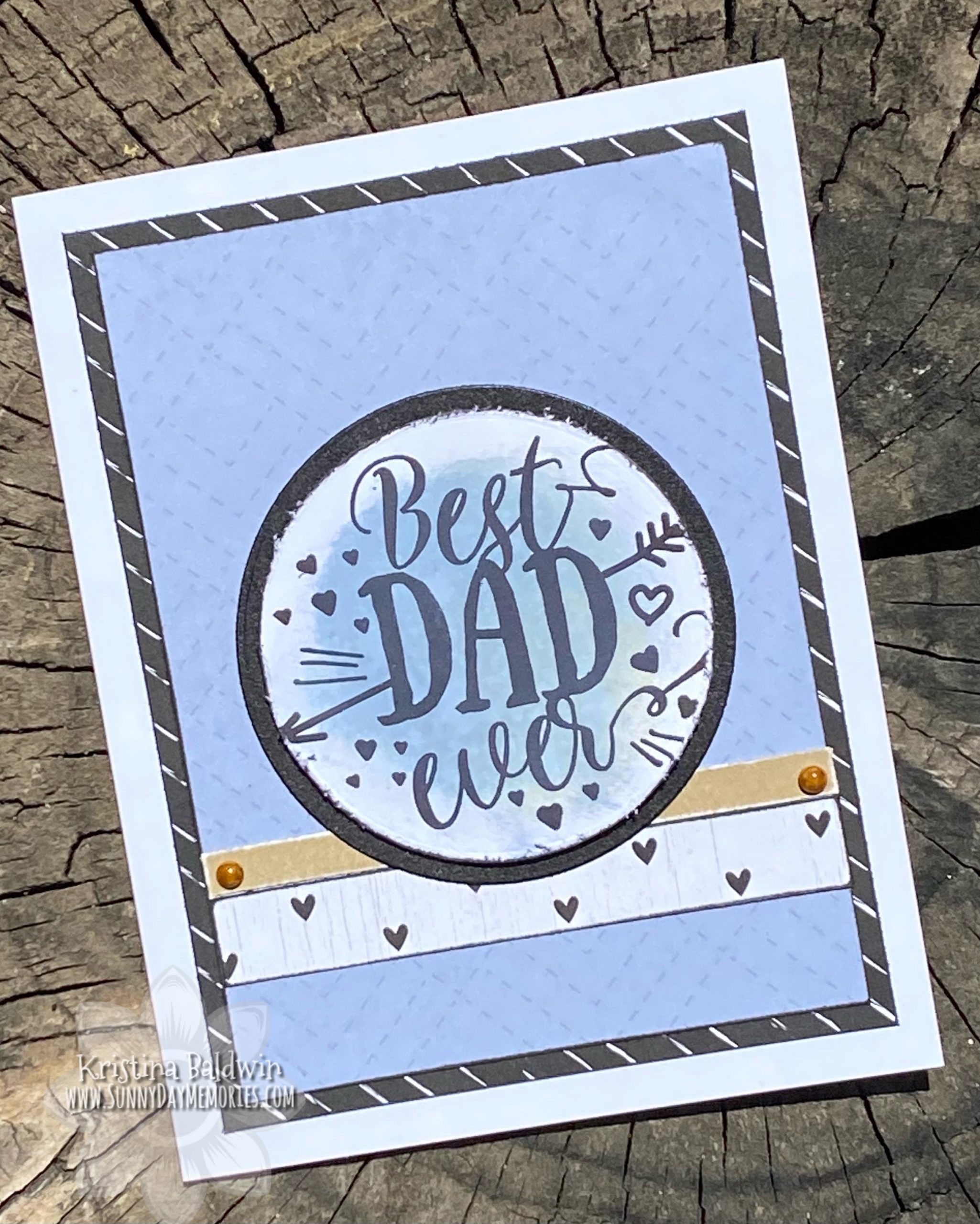 CTMH Best Dad Ever Card