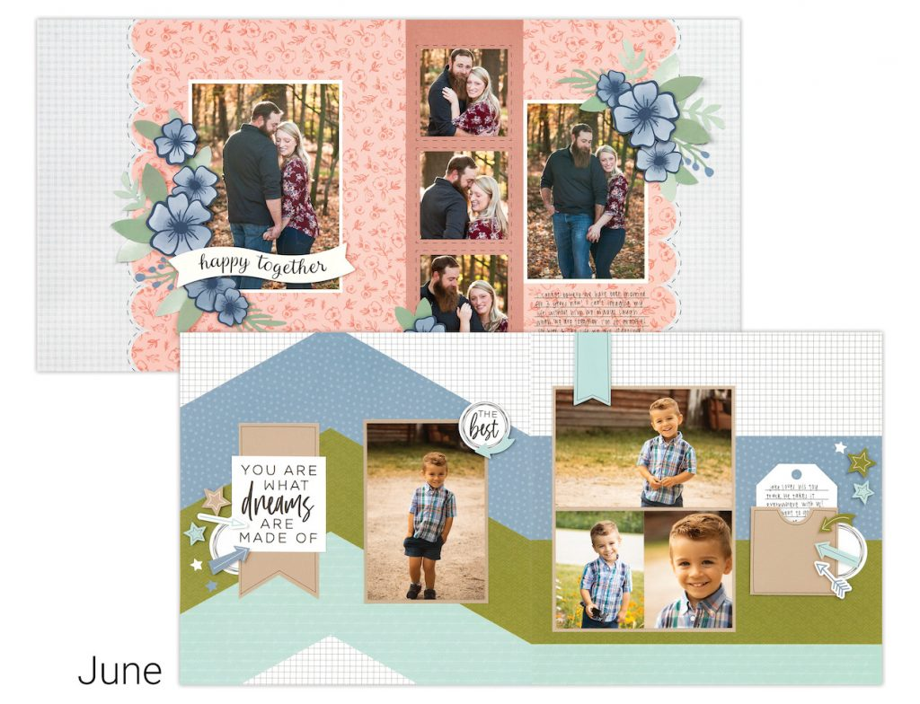 June Close To My Heart Craft with Heart Scrapbooking Kit