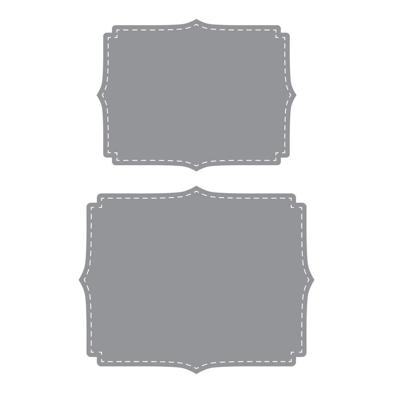 CTMH Stitched Fancy Brackets Thin Cuts