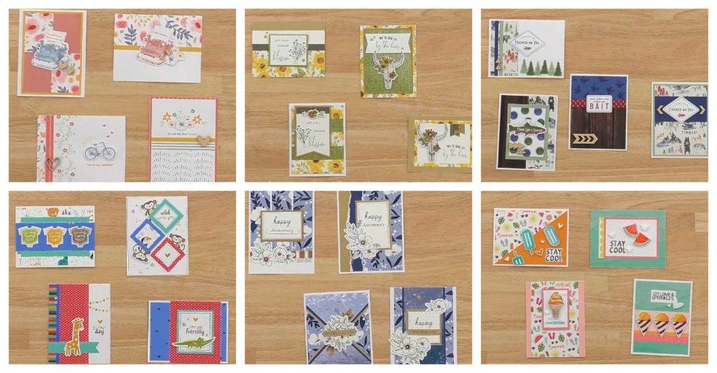 CTMH Card Workshop Kit Samples