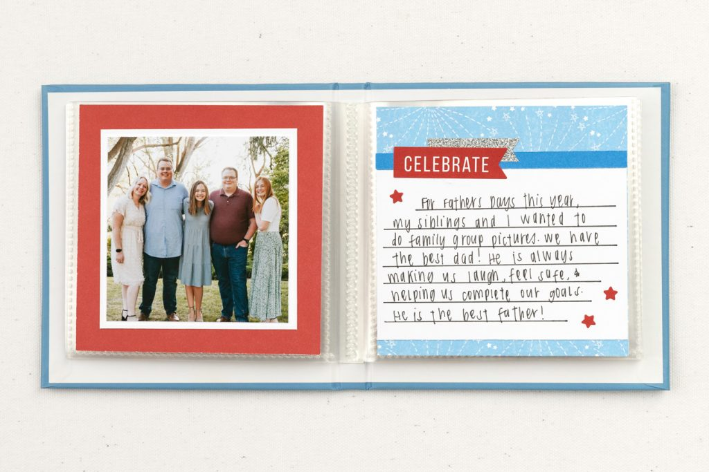 Father's Day Layout 2