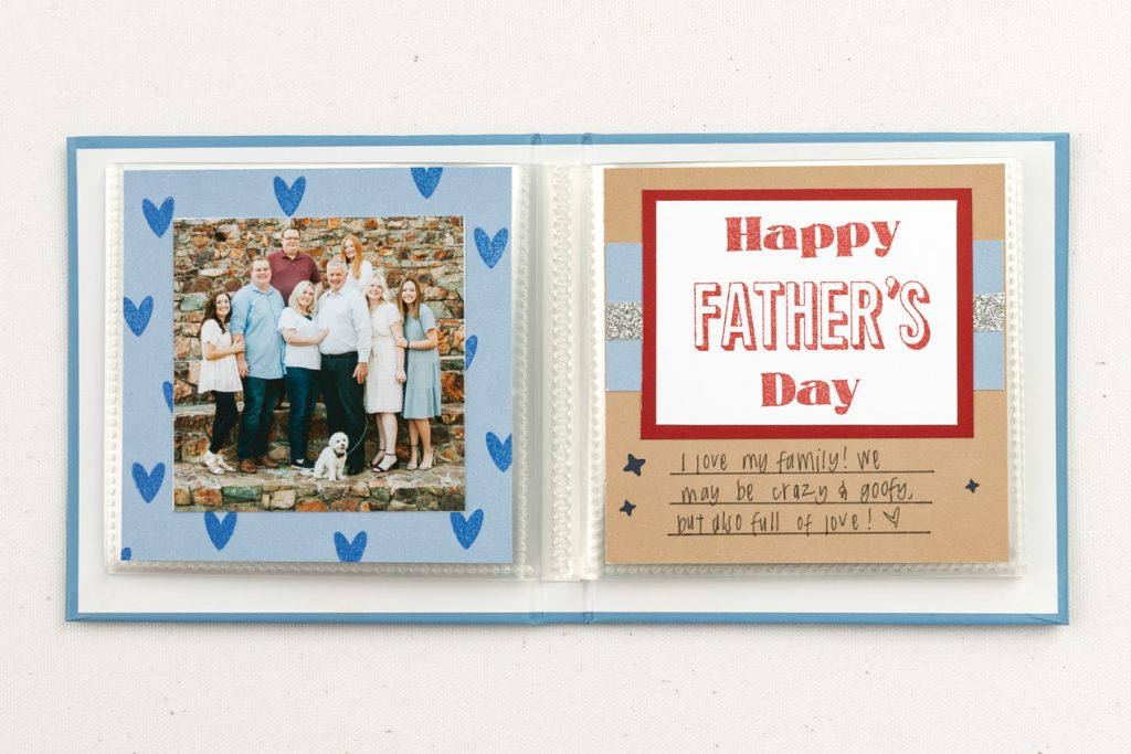 Father's Day Layout 4