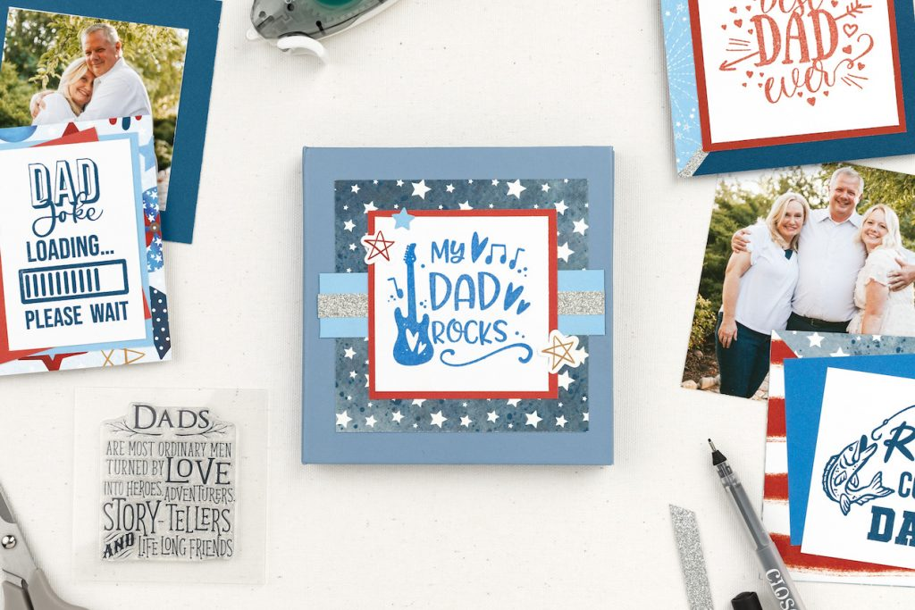 A Father's Day Mini Album