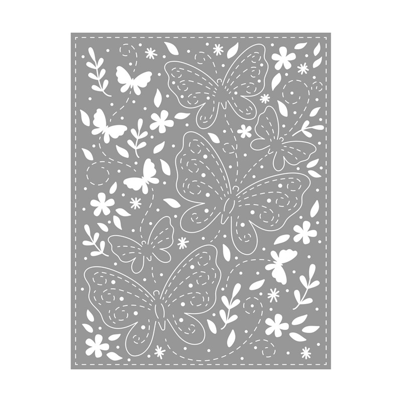 CTMH Butterfly Background Thin Cuts