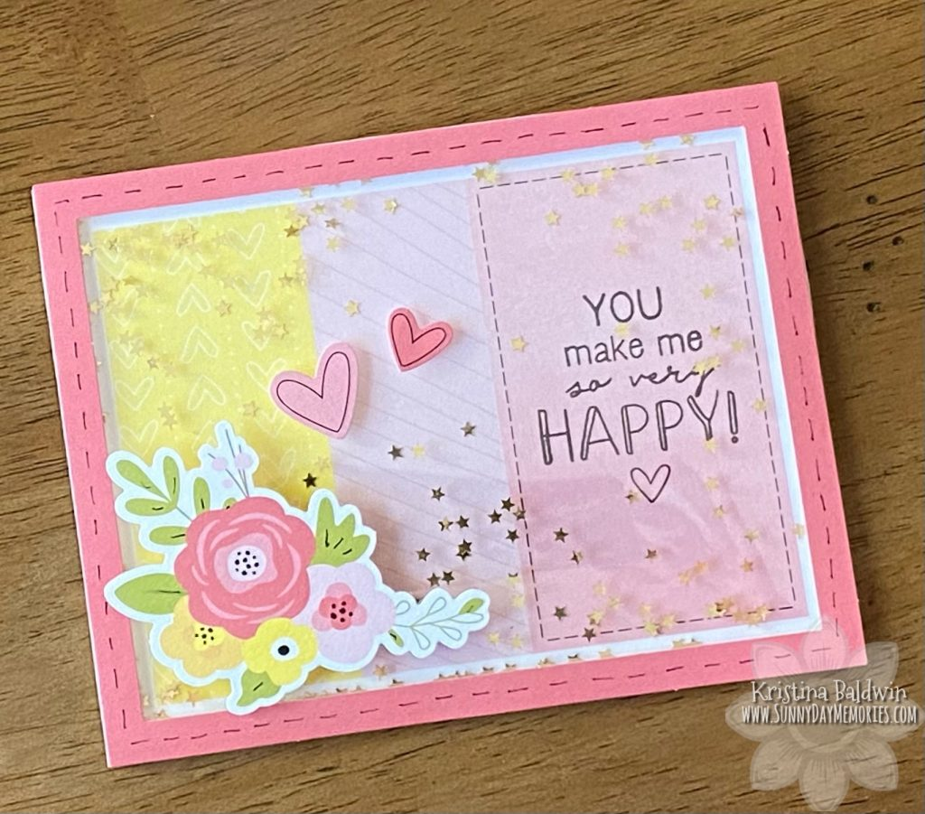 CTMH Craft with Heart Cardmaking Kit Shaker Card