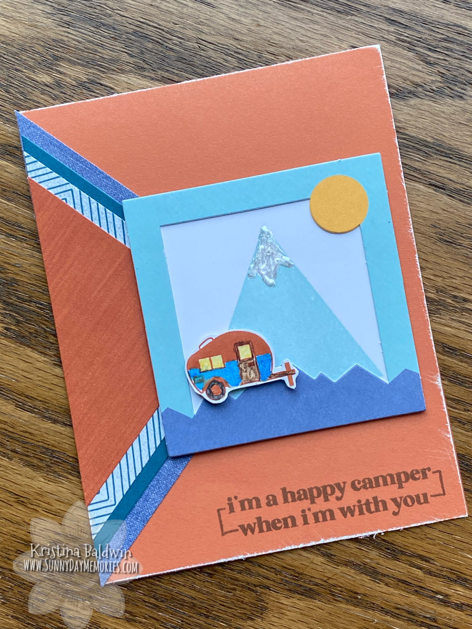 CTMH Happy Camper Mystery Card