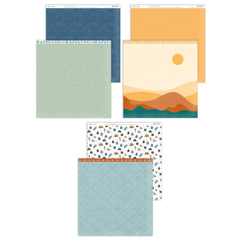 CTMH Wander Paper Collection