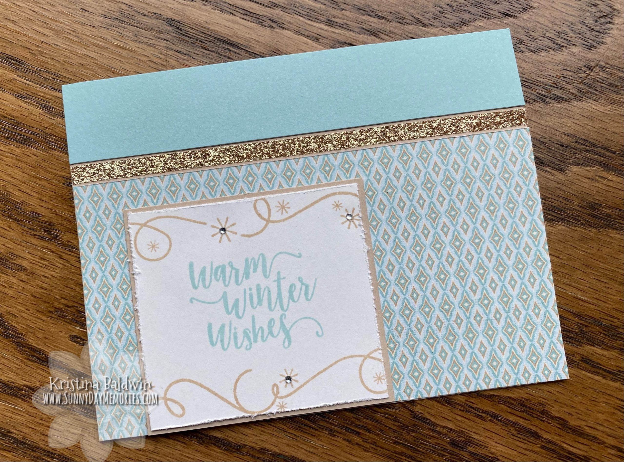 CTMH Warm Winter Wishes Card