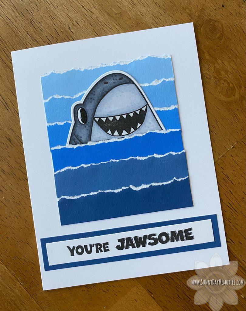 You're Jawsome Shark Card