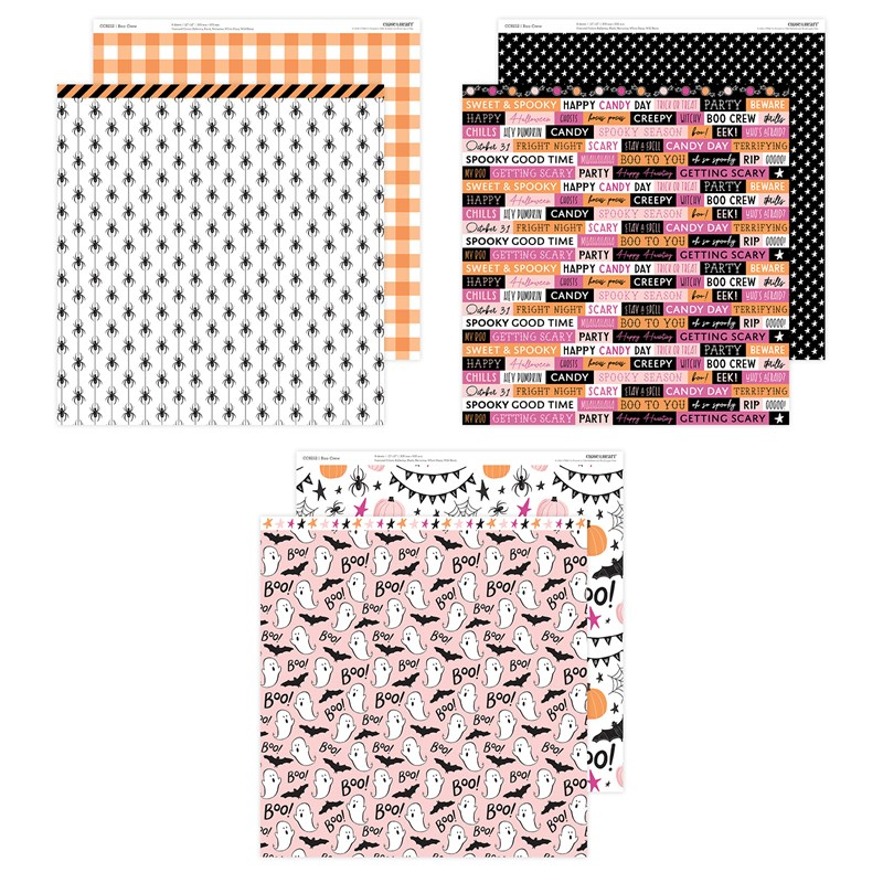 CTMH Boo Crew Paper Pack