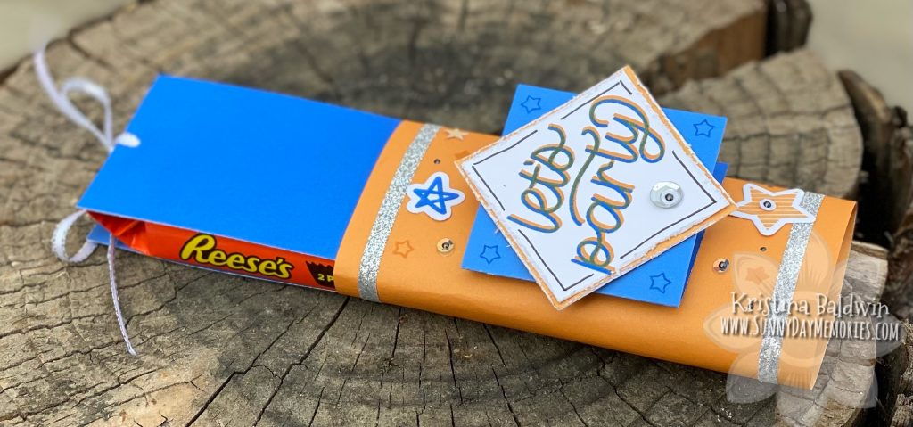 Reese's Candy Bar Card