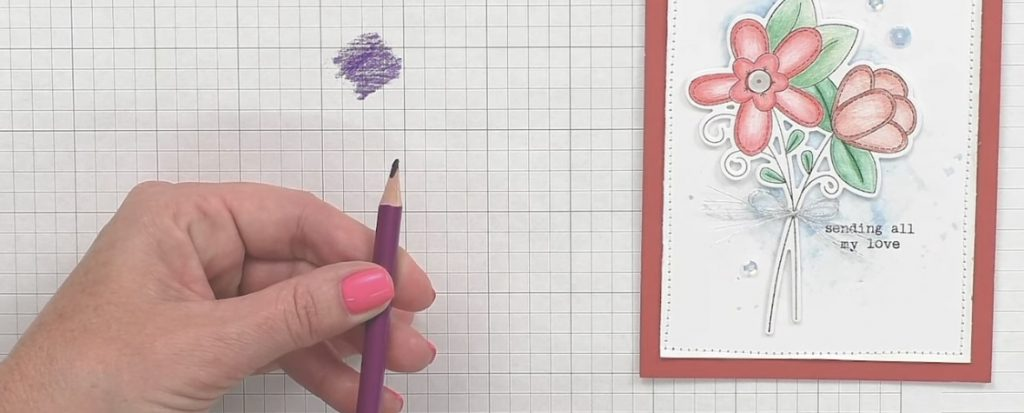 Flat Edge Watercolor Pencil