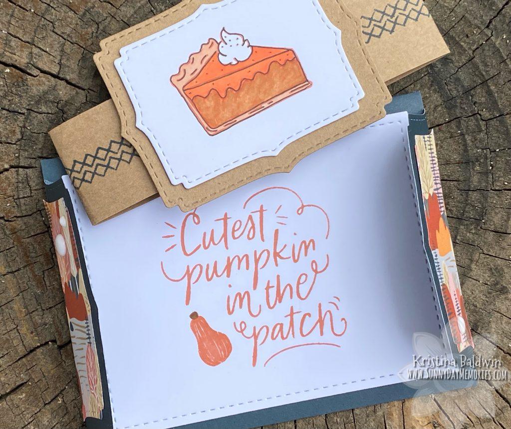 Open Cutest Pumpkin in the Patch Card