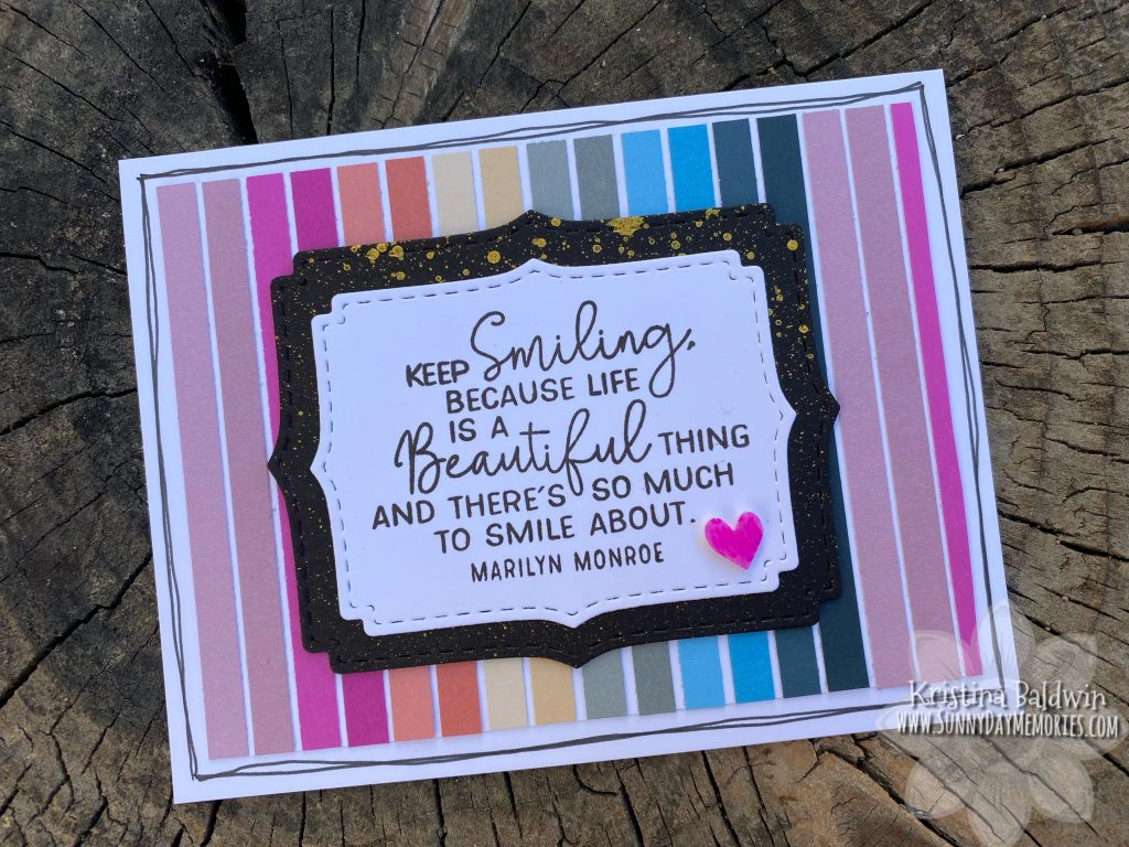 CTMH Smile Big Mystery Project Kit from SunnyDay Memories