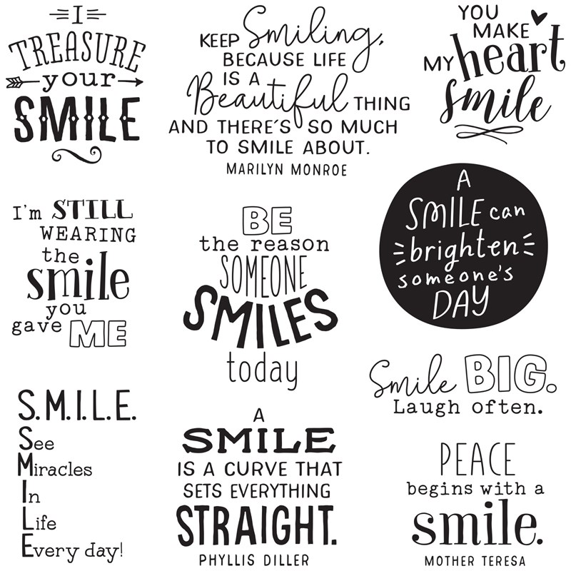 CTMH Smile Big Operation Smile Stamp Set