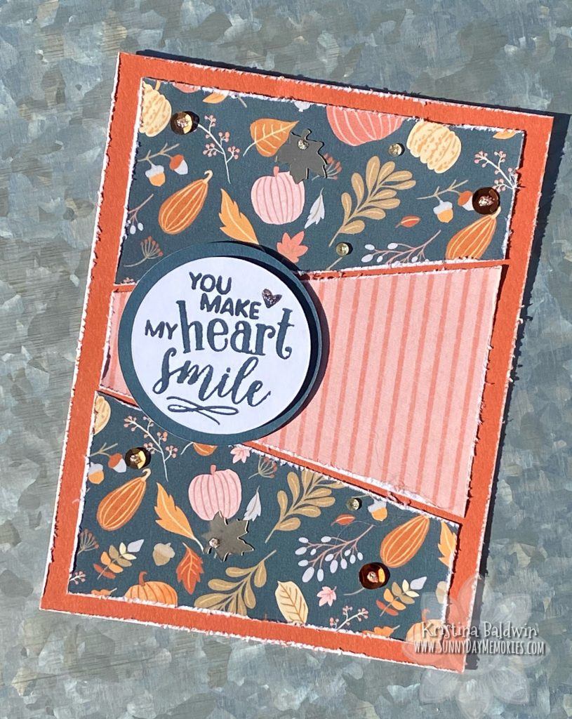 CTMH You Make My Heart Smile Card