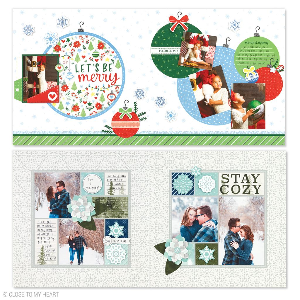 CTMH's December Craft with Heart Scrapbooking Kit