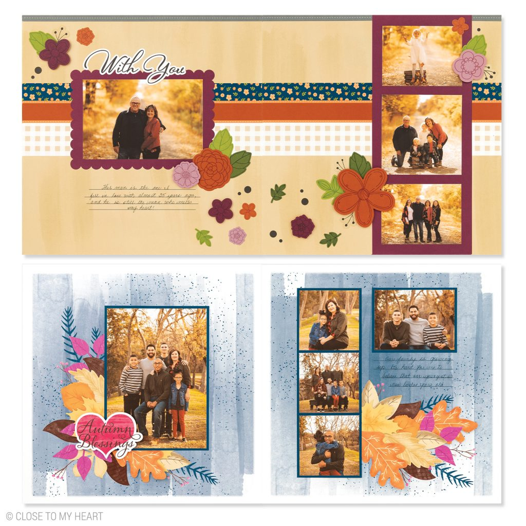 CTMH's November Craft with Heart Scrapbooking Kit