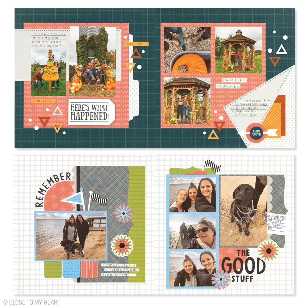 CTMH's October Craft with Heart Scrapbooking Kit