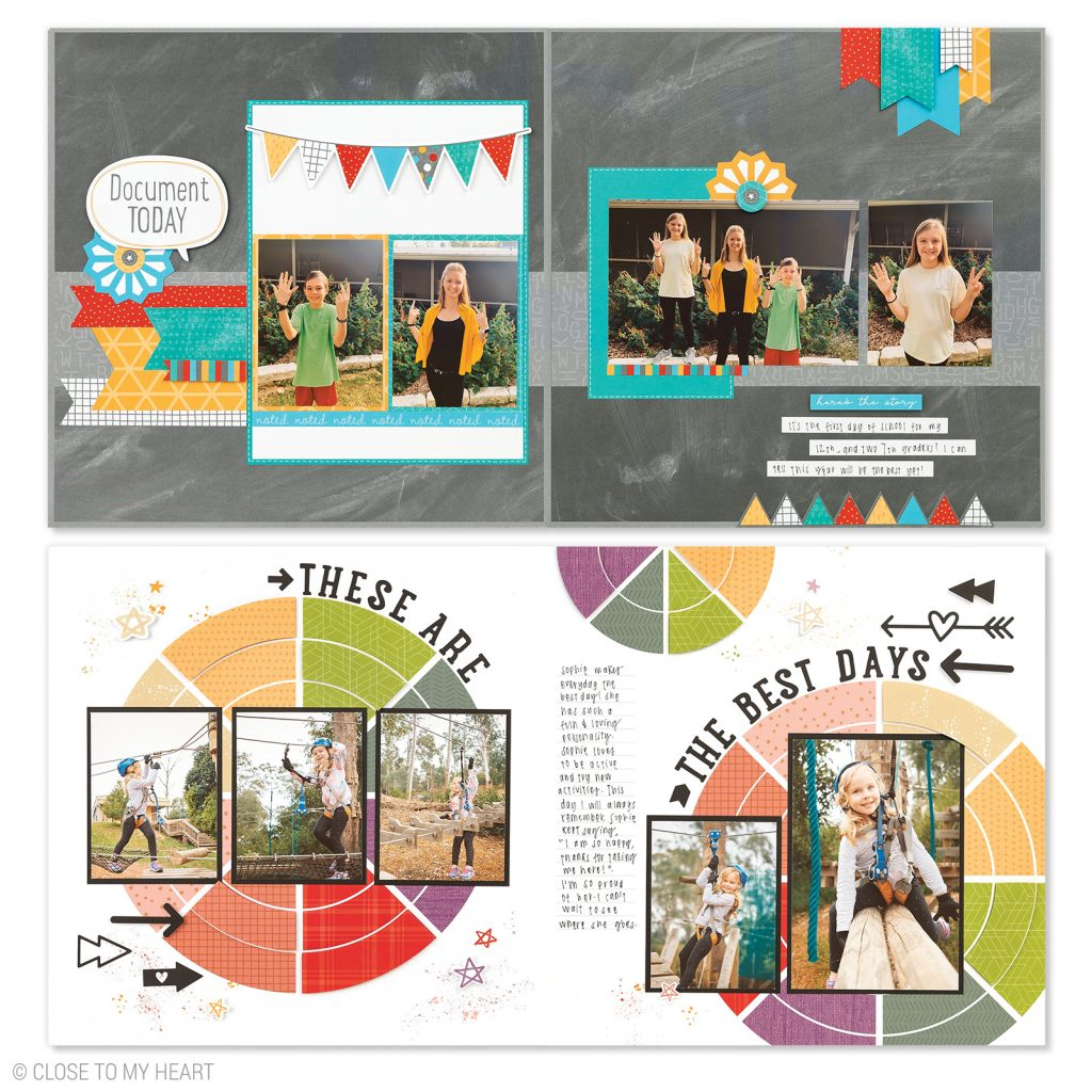 CTMH September Craft with Heart Scrapbooking Kit